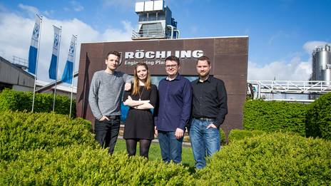 IT-Team der Röchling Engineering Plastics in Haren